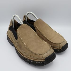 Timberland Leather Slip-Ons Size 7.5 Wide